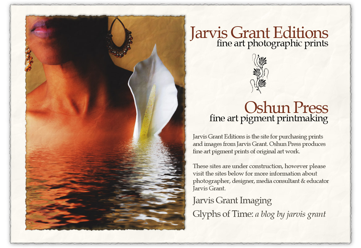 Jarvis Grant Editions and Oshun Press