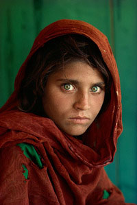 Steve McCurry's Afghan Girl