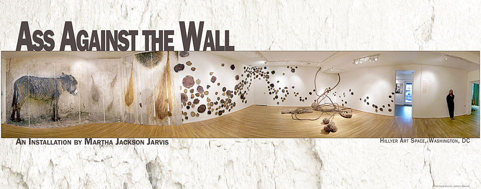 Ass Against the Wall Exhibit Poster