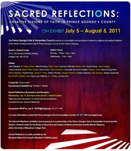 Sacred Reflections Announcement