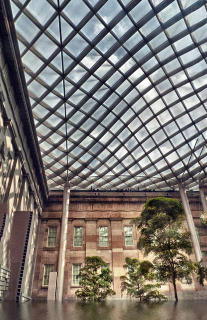Kogod Courtyard at the National Museum of American Art
