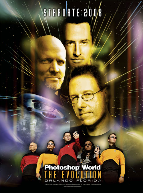 "Photoshop World 2008 ""Star Trek"" theme"