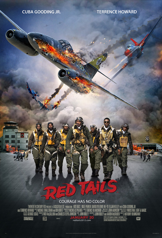 Lucasfilm's Red Tail Movie Poster
