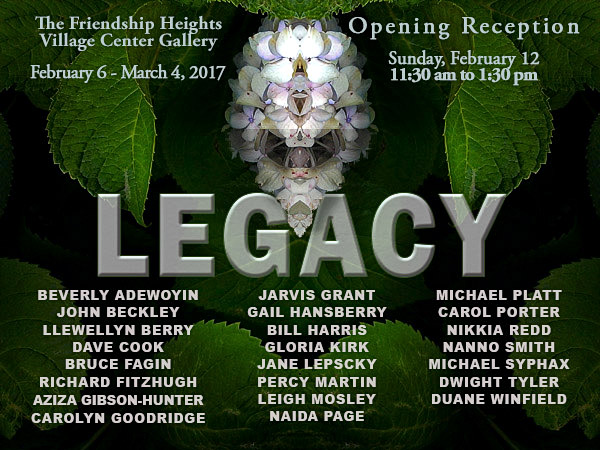 Legacy Exhibit Invitation Image